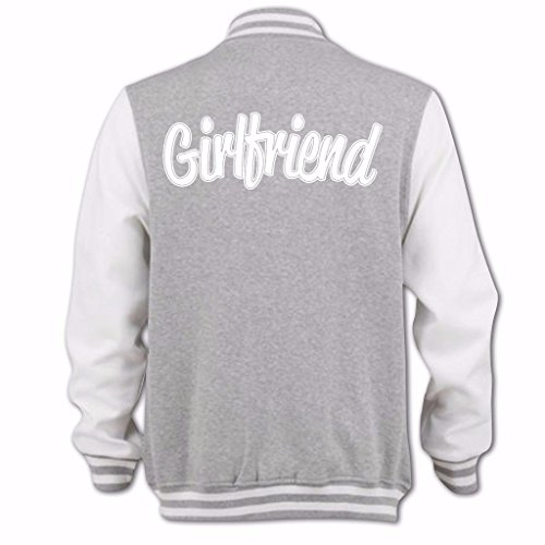 Gris Bang Girlfriend Femme D'université Jb Blouson Tidy Clothing Wf0qBwnr08