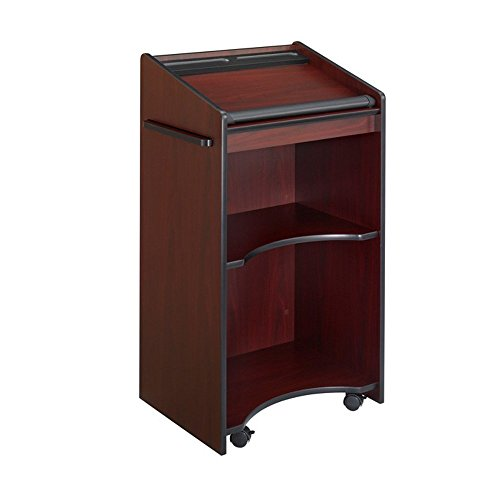 Executive Mobile Lectern - Mahogany electronic consumers