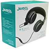 Jedel HS-636 Over-Ear Headphones - Black