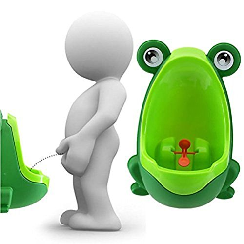 Ovedcray home series Children Toddler Frog Potty Urinal Toilet Training Boy Bathroom Pee Trainer