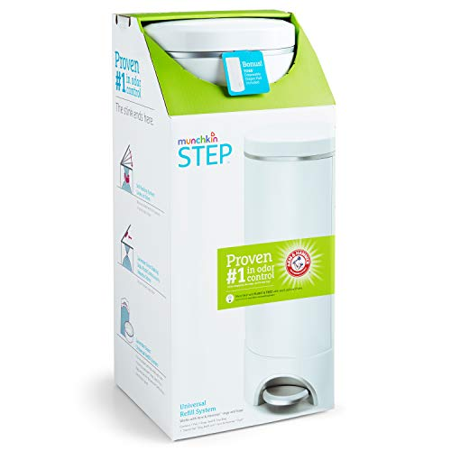 Munchkin Step Diaper Pail Powered by Arm & Hammer