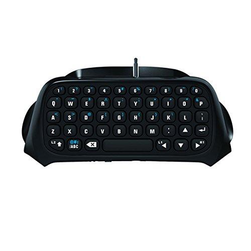 Gamers Digital Mini Bluetooth Keyboard Chatpad for PlayStation 4 - Black