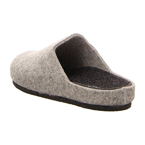 LONGO 7703/49300 Grau - Zapatillas de estar por casa para hombre gris