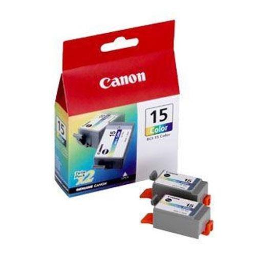 [Genuine Canon (8191A003) TRI COL INK TANKI70/I80 PIXMA IP90 (2pack) Per Pack] (Canon I80 Inkjet)