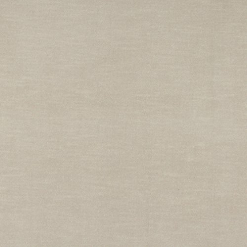 A0001D Beige Authentic Cotton Velvet Upholstery Fabric by The Yard ()