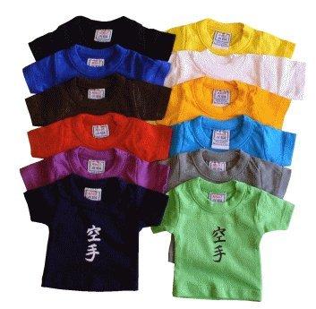 Mini T-Shirt Taekwondo türkis