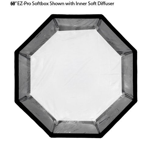 """Fotodiox EZ-Pro Octagon Softbox 60"""" With Speedring For"""