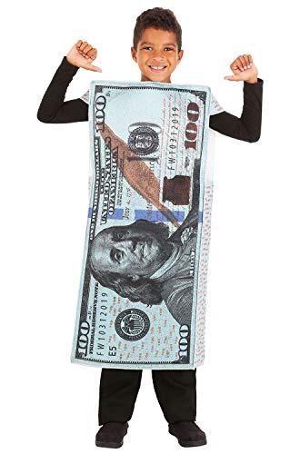 One Hundred Dollar Bill Costumes - Fun World Money, Money! 100 Dollar