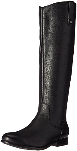 206 Collective Women's Whidbey Wide Calf Riding Boot, Black, 6.5 C/D US