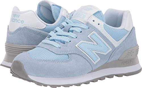 New Balance Women's 574v2 Sneaker air Nubuck/White 8 B US