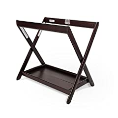 """No need to wake your baby. Take your bassinet from stroller to nursery with our convenient and attractive bassinet stand. Fully opened: 29"""" high x 30.5"""" wide x 20"""" deep, folded: 34"""" high x 30.5"""" wide x 5"""" deep, bottom tray: 15"""" wide x 27"""" dee..."""