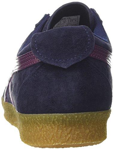 Asics Unisex Adults' Mexico Delegation Gymnastics Shoes, Green Blue (Peacoat/Eggplant 5833)