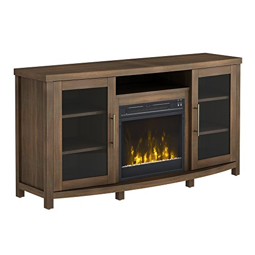 Pamari 208282 Milena Stand With Electric Fireplace For Tvs
