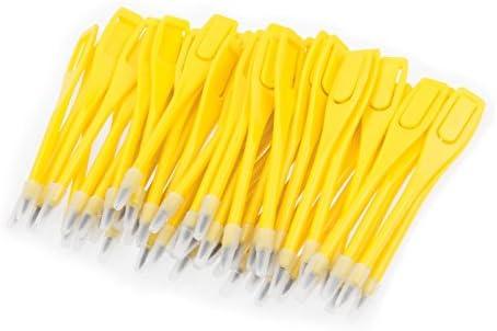 50 lápices para tarjeta de puntuación de golf, amarillo: Amazon.es ...