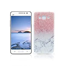 Samsung Galaxy Grand Prime G530 Case TPU Rubber Cover OuDu Silicone Case for Samsung Galaxy Grand Prime G530 Transparent Flexible Slim Case Smooth Lightweight Skin Ultra Thin Shell Anti-Scratch Anti-Shock Creative Design Cover Protective Bumper - Marble