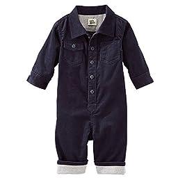 OshKosh B\'gosh Baby Boys\' Corduroy Coveralls - Navy - 6 Months