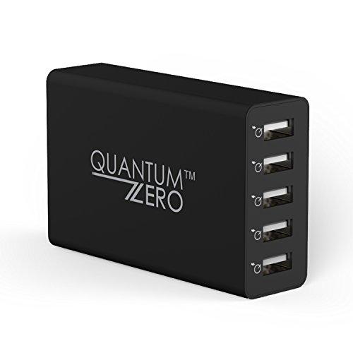 QuantumZERO QZ-WC14 40W 8A 5-Port USB Desktop Charger with SmartQ Technology