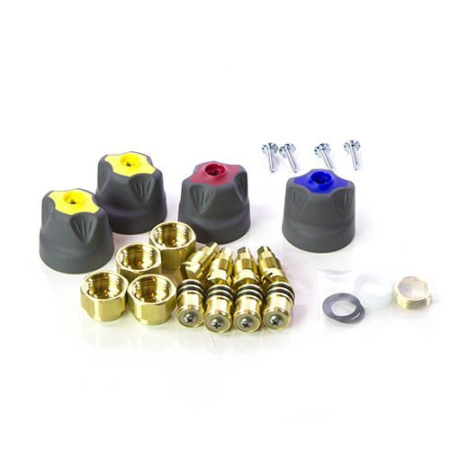 Yellow Jacket 41083 Brute II Rebuild and Replacement Kit ()
