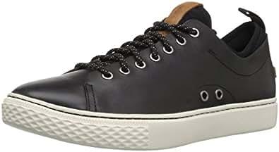 Polo Ralph Lauren Men's Dunovin Sneaker, Black, 7 D US