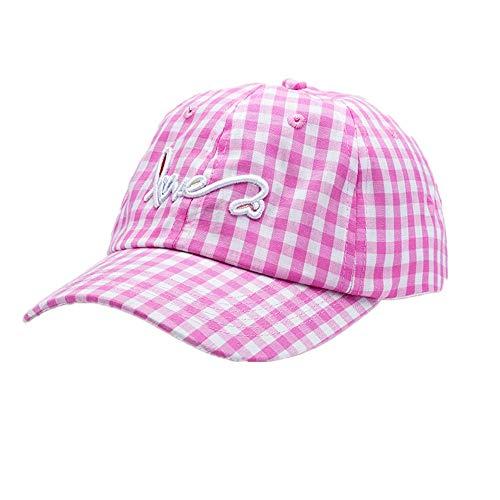 Meaeo Gorra De Béisbol Sombreros De Papá Hombre Mujeres Gorras De Hueso Ajustable Sombreros Curvados para Tapa De Viaje, Púrpura
