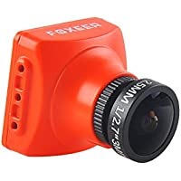 Thriverline Foxeer Arrow V3 FPV Camera 600TVL CCD NTSC IR Block 2.5mm Lens HAD II Built-in OSD MIC for FPV Racing Drone like QAV210 etc Orange