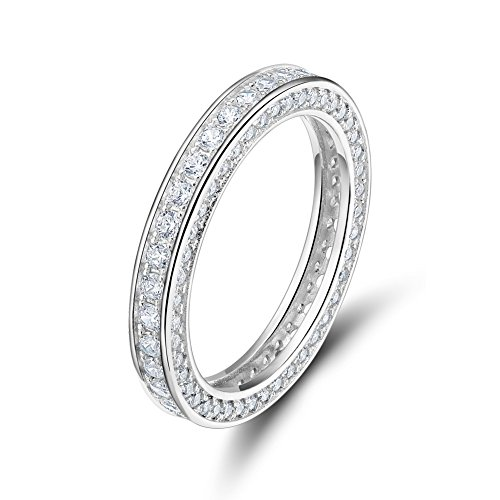 Sterling Zirconia Eternity Engagement Wedding product image