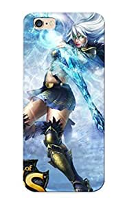 Downturnvver Iphone 6 Plus Hybrid PC Case Cover Silicon Bumper Ashe - League Of Legends