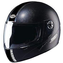 Studds Chrome Eco Full Face Helmet- Black (L)