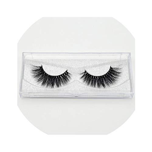 Eyelashes 3D Mink Lashes Handmade Full Strip Lashes Cruelty Free Luxury Mink Eyelashes Makeup Lash,D116]()