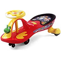 Kids Swing Car Ride On Twist Car Toy Ride on Wiggle Car - Red