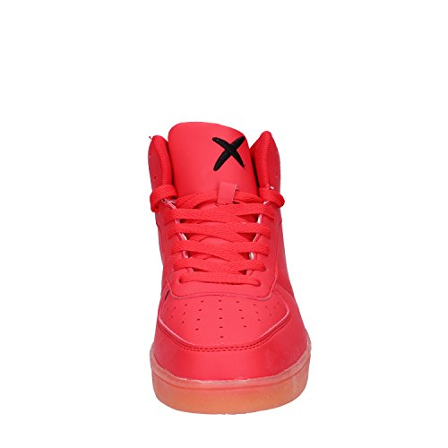 Rosso Ope Pelle amp; Uomo Wize Sneaker F5wxaqSUX