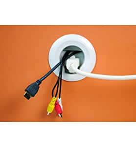 Wiremold Company CMK70 Flat Screen Tv Cord and Cable Power Kit