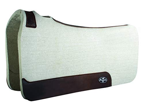 Professional's Choice Saddle Pad Steam Pressed 1″ 28 x 30 Tan PCWFPB