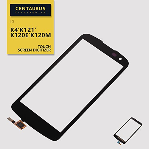 Touch Screen Digitizer Replacement For LG K4 spree K120 Optimus Zone 3 VS425PP verizon ( have hole and The lower edges area slight bow) (Verizon Touch Screen)