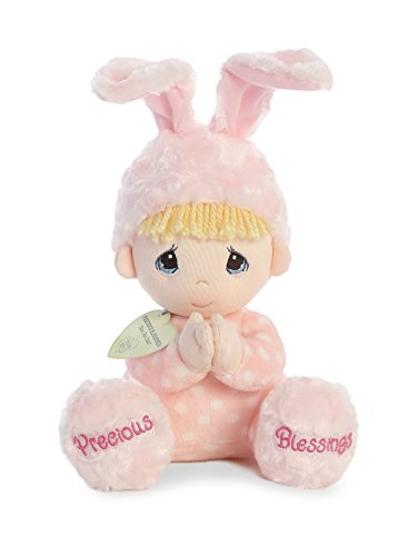 Aurora World Precious Moments Soft Toy Doll, Pink from Aurora