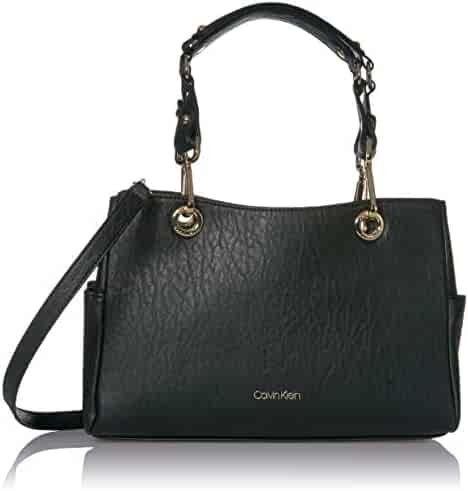 Calvin Klein Sonoma Bubble Lamb Novelty Key Item Satchel