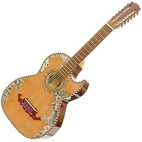 paracho Elite Alvarado bajo sexto Guitarra: Amazon.es: Instrumentos musicales