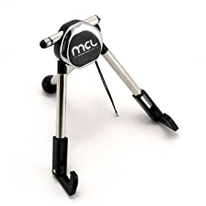 MCL ACC-TRIPOD/N Interior Passive holder Negro, Cromo - Soporte (Tablet/UMPC, Interior, Passive holder, Negro, Cromo, iPad, 110 mm)