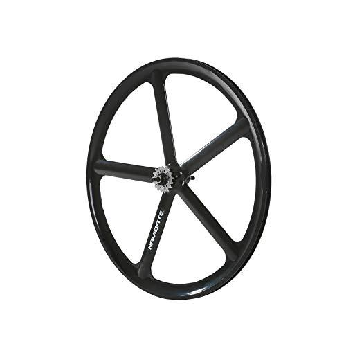 Solomone Cavalli SC Fixed Gear 700c Tri Spoke 5-Spoke Rim Rear Single Speed Fixie Bicycle Wheel
