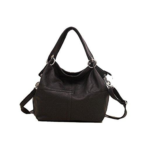TUBEDI SHB200007C3 PU leather stitching European and American style bucket type Handbag (European Closet Price List)