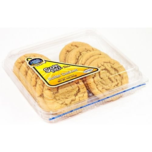 Hill and Valley Sugar Free Butter Cookies, 15 Ounce - 8 per case.