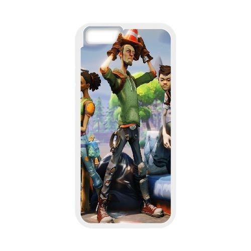 Fortnite 3 coque iPhone 6 4.7 Inch Housse Blanc téléphone portable couverture de cas coque EOKXLLNCD09474