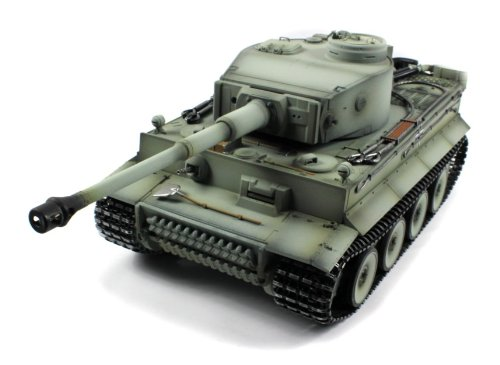 Taigen German Tiger 1 Electric Airsoft RC Tank Full Metal HC Series World War II WWII 2.4GHz Big 1:16 Scale Ready To Run…