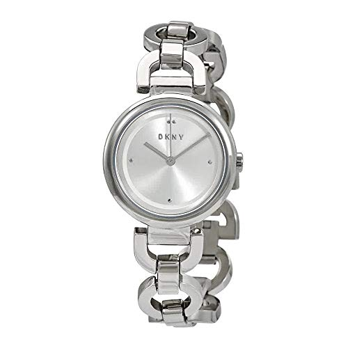 Dkny Womens Silver Dial - DKNY Eastside Quartz Silver Dial Ladies Watch NY2767