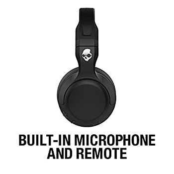 Skullcandy Hesh 2 Bluetooth Wireless Over-ear Headphones With Microphone, Supreme Sound & Powerful Bass, 15-hour Rechargeable Battery, Soft Synthetic Leather Ear Cushions, Black 3
