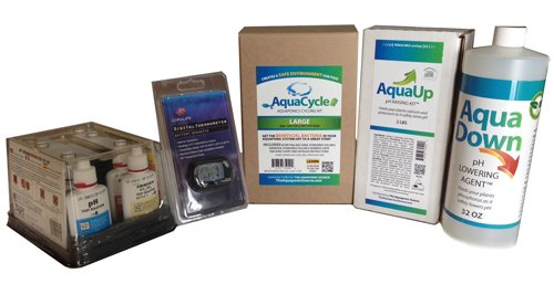 AquaStart Large Aquaponics Getting Started Kit by The Aquaponic Source