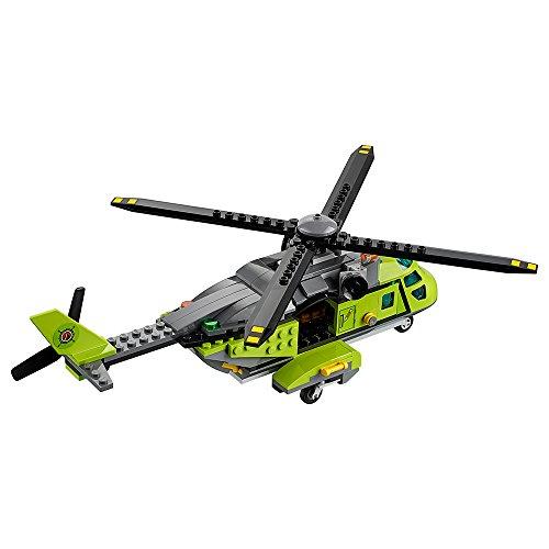 LEGO City Volcano Explorers 60123 Volcano Supply Helicopter Building Kit (330 Piece)