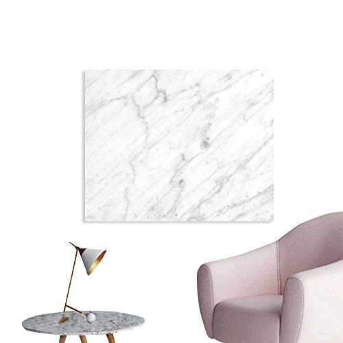 J Chief Sky Marble Custom Prints Poster Carrara Marble Tile Surface Organic Sculpture Style Granite Model Modern Design Mural Wallpaper W36 xL24