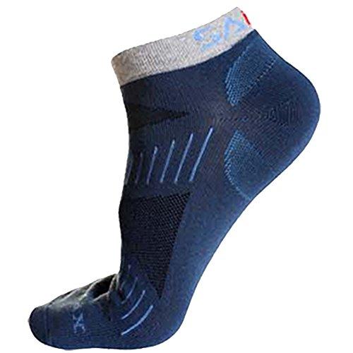 Amurleopard Mens Ankle Socks 6 Pairs Color Random US M 8.5-11
