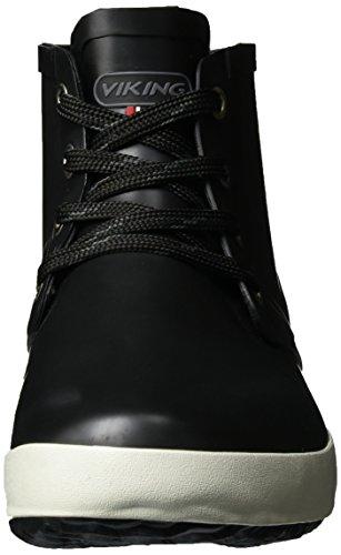 2 Black Agua Jr Negro de Adulto Unisex Lillesand Viking Botas Ix78wARznq